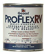 Geocel 23200V Pro Flex RV Brushable Sealer - 1 Quart