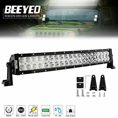 20 inch 120W LED Work Light Bar Spot Flood Combo JEEP SUV Off road Driving Lamps