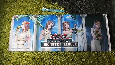 Yu-gi-oh! SPIELMATTE / PLAYMAT : Battle Pack 3 Monster League (Forbidden Theme)