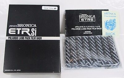 Bronica ETRSi Polaroid Land Pack Film Back - Boxed
