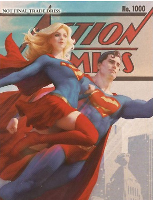 Action Comics #1000 Artgerm Exclusive Variant Cover RARE Vintage Edition