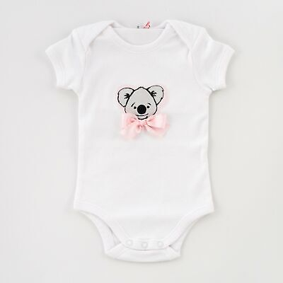 NEW Baby Clothing, Gifts and Accessories Tickled Pink Koala Romper - Pink