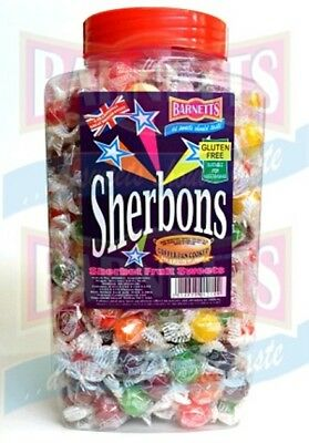 Barnett Sherbons 2.5kg of fizzy fruity hard candy in assorted fruit flavours