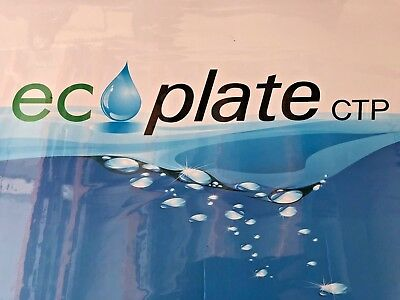 "Polyester plates / Laser Plates 13"" x 19.875"" ECO PLATE  50% off this month only"