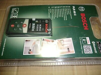 Bosch Plr 40 C Digital Laser Measure New