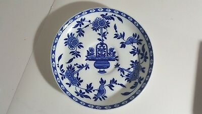 Antique Delft Minton Saucer Blue White