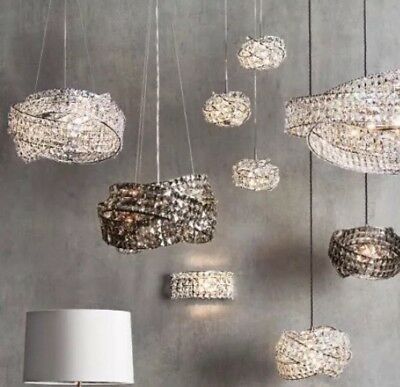 Next Venetian 5 Light Smoked Gl Large Ceiling Lighting Chandelier