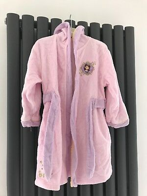GIRLS DISNEY Store Princess dressing gown robe age 3-4 -excellent ...