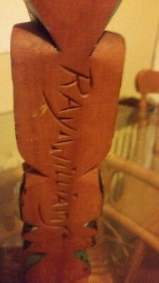 Ray Williams Nuu-Chah-Nulth Carved Painted And Signed Totem Pole