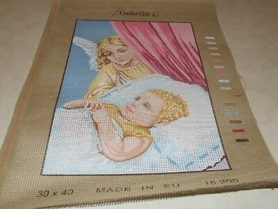 Tapestry - Angel watching over a Child - Gobelin - New