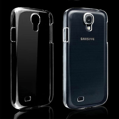 For Clear Transparent Rubber Soft TPU Case Cover Samsung Galaxy S4 SGH-I337M