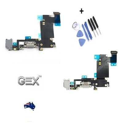 USB Dock Charger Port Mic Flex Cable Replacement For iPhone 6s Plus + Tools