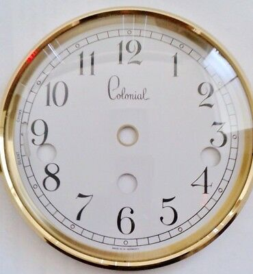 Hermle-Colonial Dial-bezel combination for 340-020 clock movement.130 mm