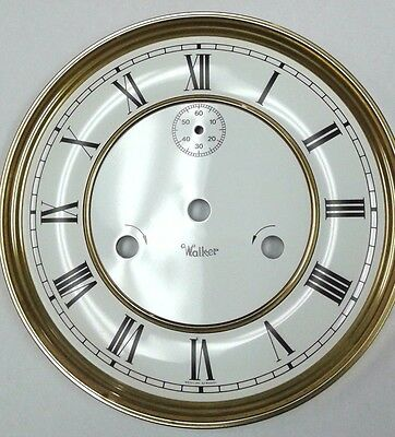 Kieninger-Walker wall clock dial for PS movement 180 mm