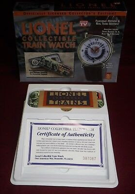 Lionel Train Watch ~ Featuring Real Train Motion and Sounds ~ In Box
