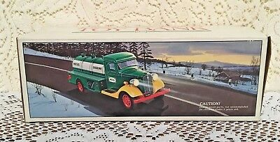 1980 First Hess Truck Toy Bank New In Box