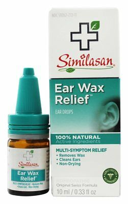 Similasan - Ear Wax Relief Non-Drying Ear Drops - 0.33 oz.