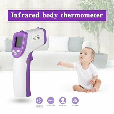 LCD Digital Non-contact IR Infrared Thermometer Forehead Body Temperature AY
