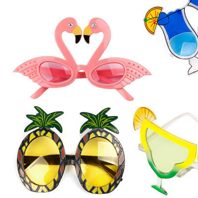 Novelty Flamingo Glasses Beach Supplies Party Wedding Decor Pineapple Sunglasses
