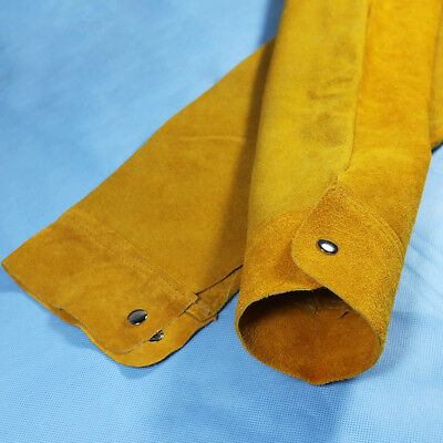 1 Pair Leather Cooling Arm Sleeves Cover for Welding