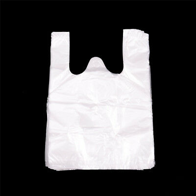 74pcs 17*24cm Retail Merchandise Supermarket Grocery Plastic Shopping Bags  O