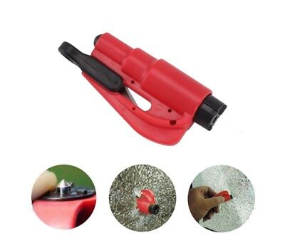 3 in 1 Emergency Escape Tool Safety Hammer Window Glass Breaker Seat Belt Cutter