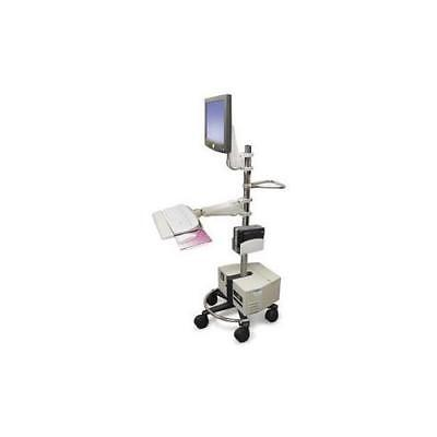 Ergotron 60-131-003  Mobile Workstand.this Sit-Stand Mobile Computer Cart Is ...