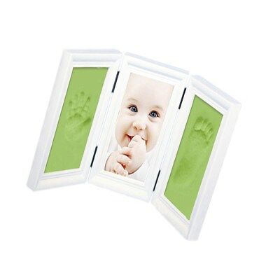 Baby Hand & Foot Print Casting Kit DIY 3D Unique Keepsake Shadowbox Photo Frame