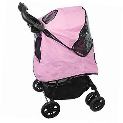happy trails plus pet stroller with weather guard for cats and dogs up to