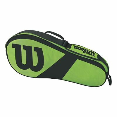 WILSON Match III 3 Pack Tennis Racquet Bag - Green/Black - FAST Shipping!