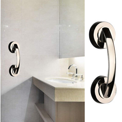 Wall Sticker Bath Safety Stainless  Handle Suction Cup Handrail Grab Bathroom