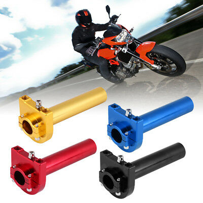 "Universal 7/8"" 22mm Handlebar Throttle Twist Grips Accelerator for Motorcycle"