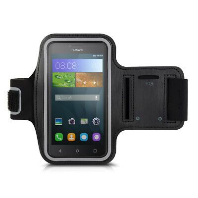 Sport Armband For Huawei Y5 Key Tray Black Running Jogging Mobile Phone Jogging