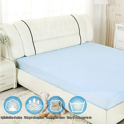 2X Washable Reusable Bed Pad Incontinence Bed Wetting Mattress Protector