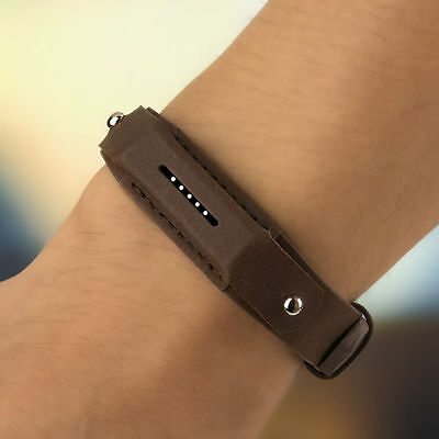New Fashion Leather Wrist Band Strap Watchband Bracelets for Fitbit Flex 2