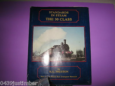 New South Wales Railways The 30 Class Engines R G Preston Hardcover Very Good
