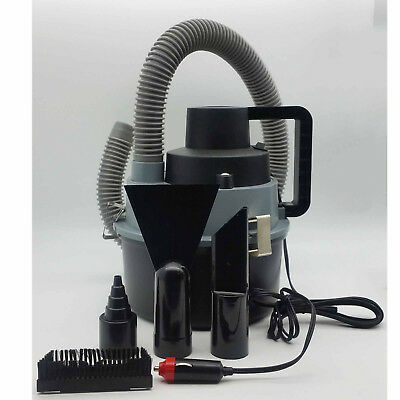 Car Vacuum Cleaner Wet Dry Hoover Handheld Water Pump Inflate Caravan Travel