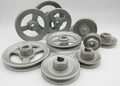 Aluminium Light Pulley Wheel Ring Industrial Machine Parts Belt Rolling Metal