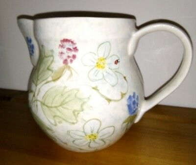 Laura Ashley Ltd Edition 1993 40th Anniversary jug. Designed by Suzanne Katkhuda