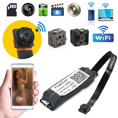 Mini Wireless IP Hidden Spy Camera WIFI HD 1080P For Home Surveillance Camcorder