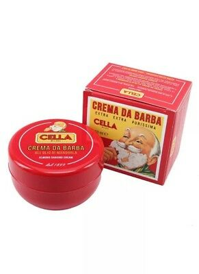 Cella Shaving Soap with Almond 150ml / SAME DAY POST