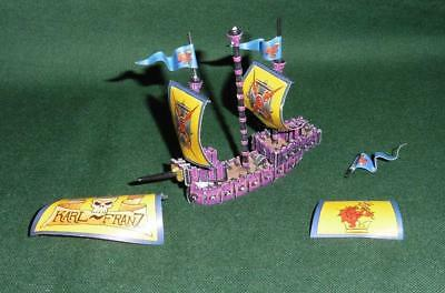 OOP Citadel GW Man O' War metal painted Empire Greatship flagship.