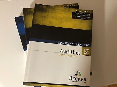 Becker cpa exam review 2013 aud bec free brand new aud final becker cpa exam review 2013 aud bec free brand new aud final review 2013 fandeluxe Images