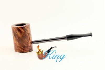 Erik Nording Compass Briar Pipe Brown Smooth Brand New Unsmoked