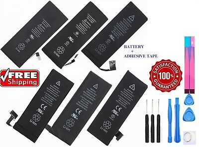 New Replacement Internal Battery for iPhone 4 4S 5 5C 5S SE 6 6S 7 8 Plus X LOT