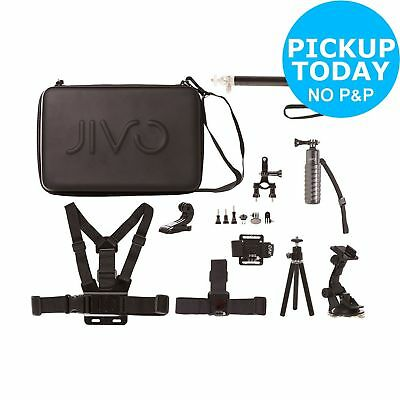 Jivo GoGear Universal GoPro and Action Camera Accessory Kit.