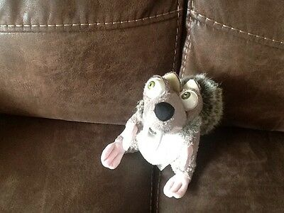 ice age scrat the squirrel soft toy