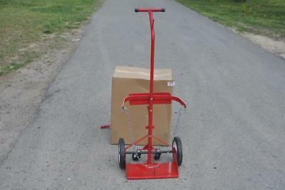 Dayton 6W055 Cylinder Truck Cart with Casters 500 LBS