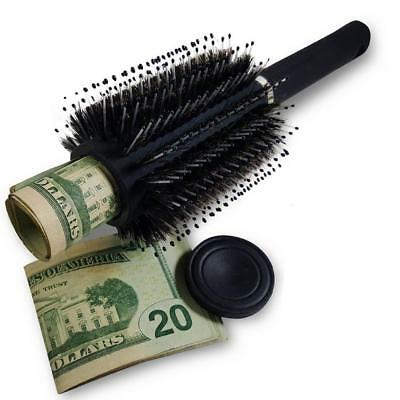 Hair Brush Safe Stash Diversion Can Secret Container Hidden Valuables Container