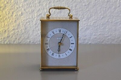 JUNGHANS vintage clock. Made in Germany. Brass.